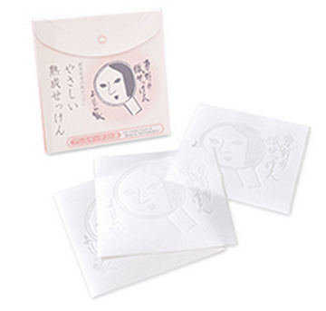 Yojiya facial cleaning paper soap 潔面紙皂 (20pcs)